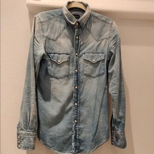 Tom Ford Jean shirt